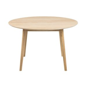Nagano Oak Round Dining Table 1