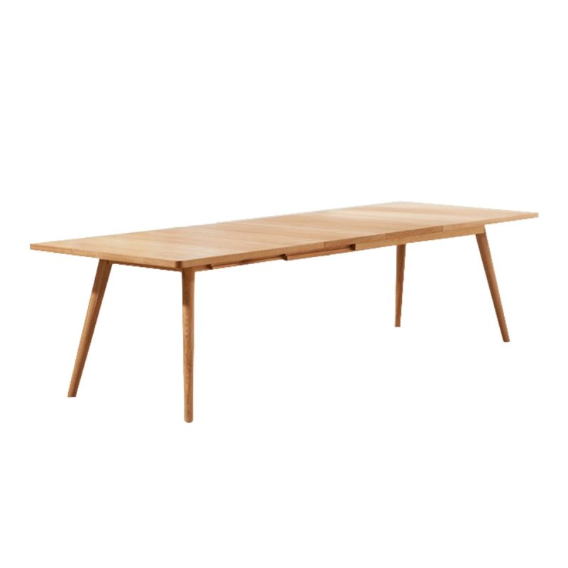 Tiko Oak Extending Dining Table
