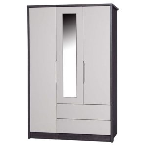 April-3-door-2-drawer-mirrored-wardrobe-grey-and-sand