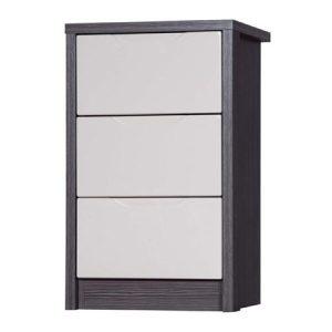 April-3-drawer-bedside-grey-and-sand