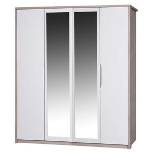 April-4-door-mirrored-wardrobe-champagne-and-cream-3AR4DRM
