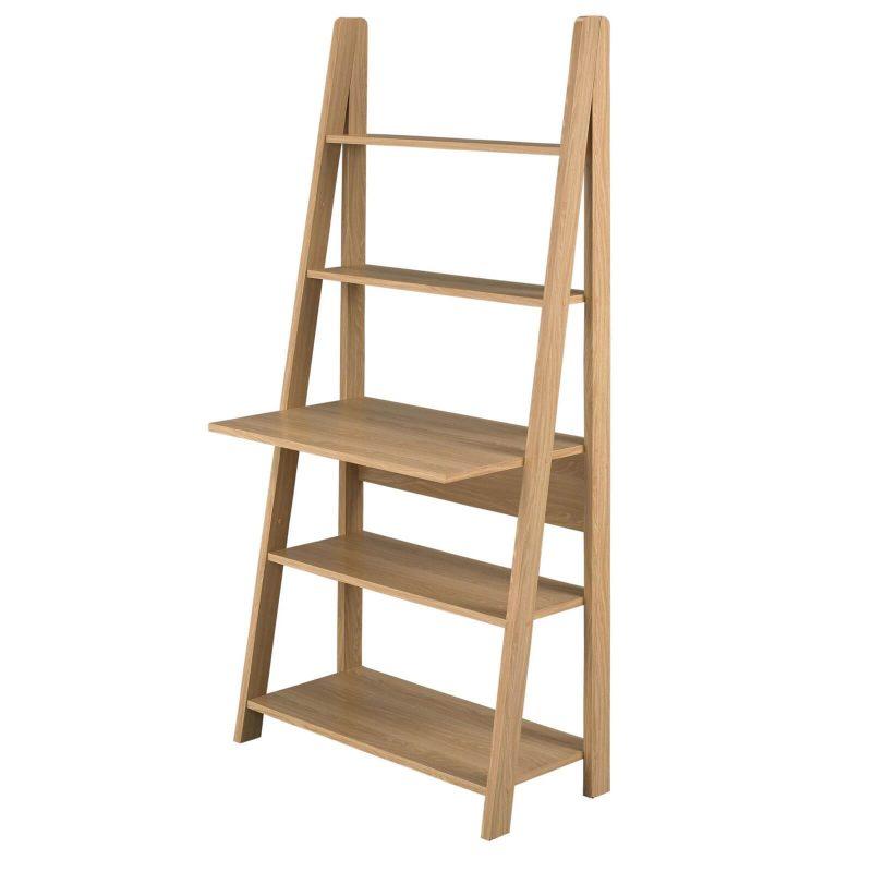 Bodo Oak Ladder Desk