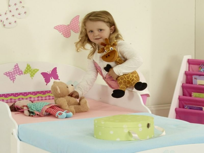 Butterfly Single Toddler Bed 4