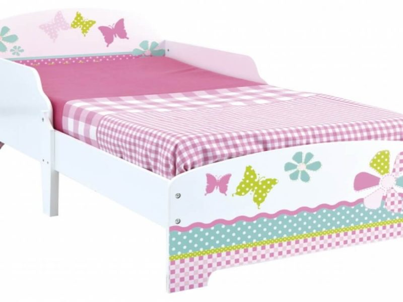 Butterfly Single Toddler Bed 5