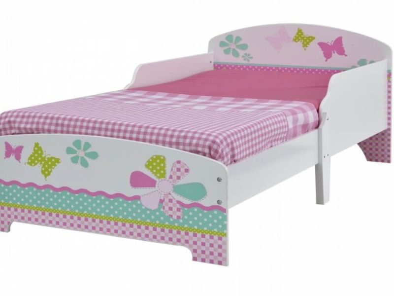 Butterfly Single Toddler Bed 2