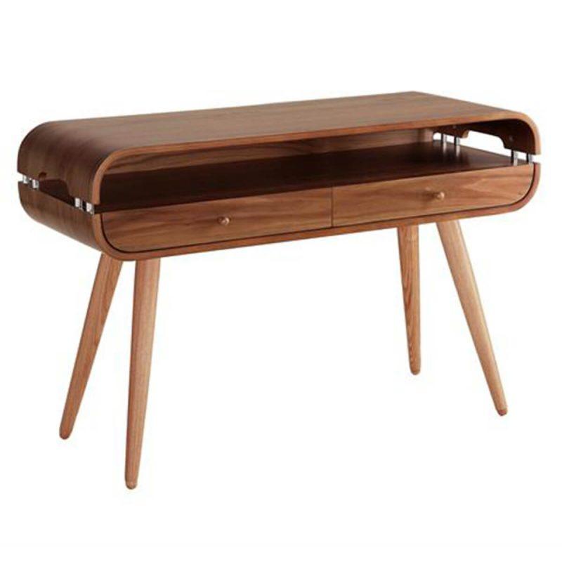 Jual Scandinavian Console Table Walnut