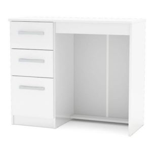 Lynx Dressing Table White Gloss Assembled