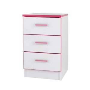 Modern Kiddi Pink Bedside