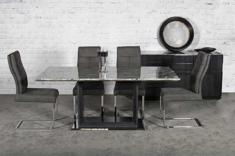 Rina Marble Dining Table Set 4 to 8 Seater 2