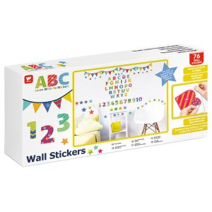 Walltastic ABC Childrens Room Decor Stickers