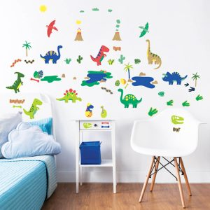 Walltastic Dinosaur Sticker Set 3