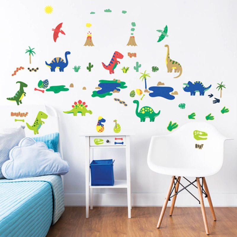 Walltastic Dinosaur Sticker Set 3