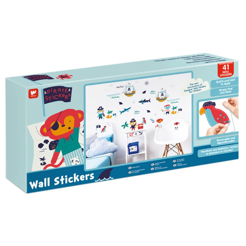 Walltastic Pirate Childrens Room Decor Stickers
