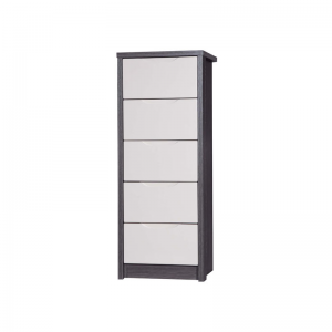 5 Drawer Tallboy Grey