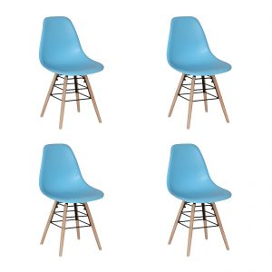 Lilly Chair Blue New Design