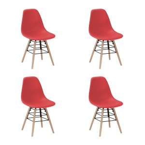 Lilly Chair Red New Design