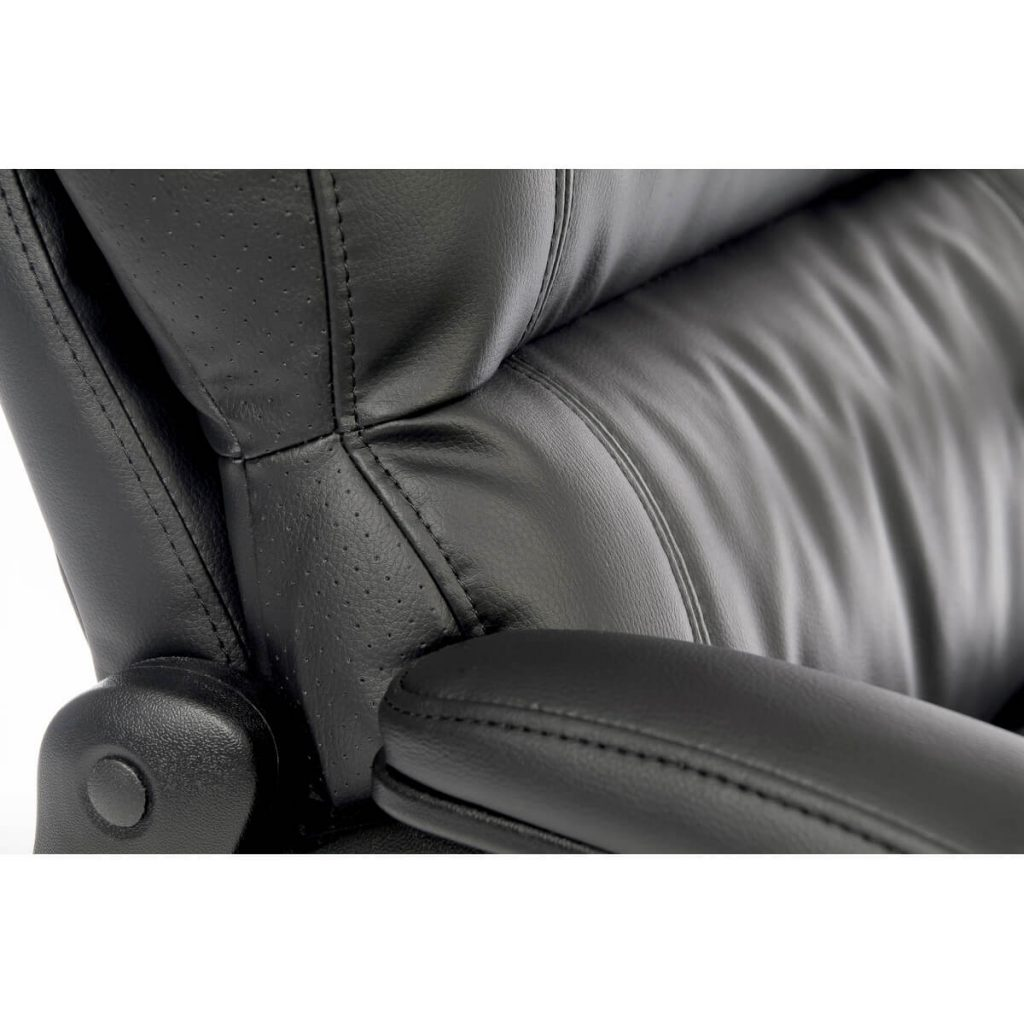 Lincoln Luxury Office Chair Faux Leather 4