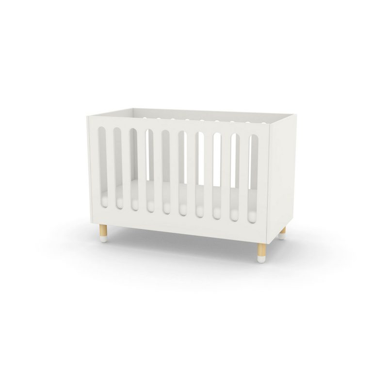 Flexa Play Cot Bed - White at FADS.co.uk