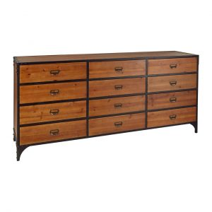 Foundry 12 drawer chest at FADS.co.uk