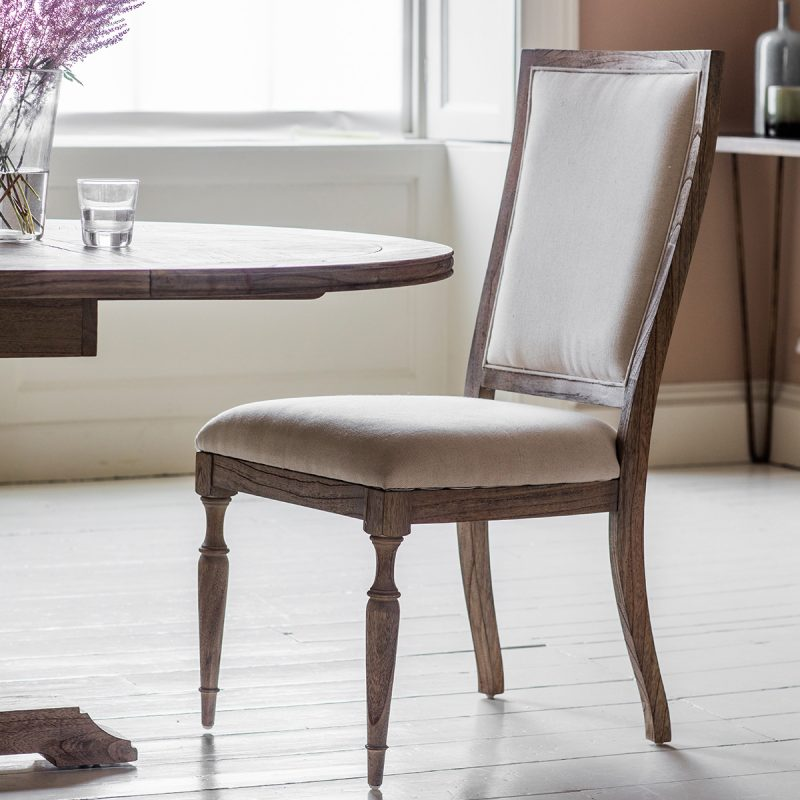 French colonial dining chair standard at FADS.co.uk