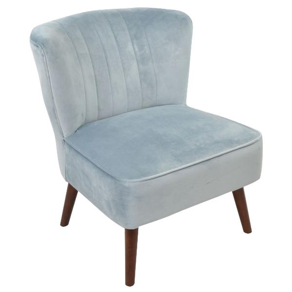 Marlene Cocktail Chair - Powder Blue