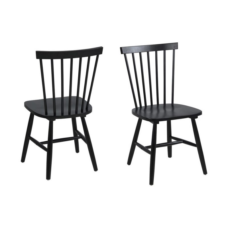 Riano Black Dining Chair at FADS.co.uk