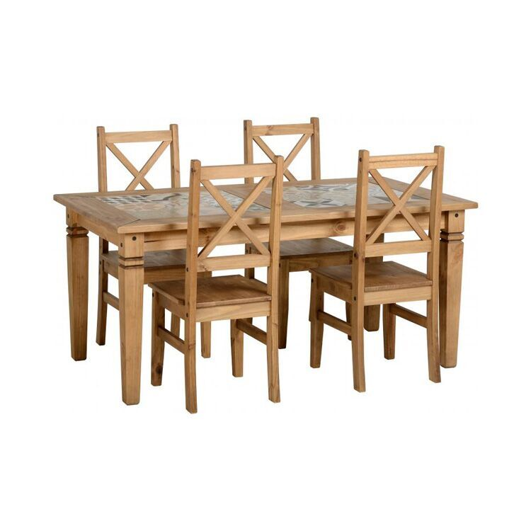 Kingston Tile Top Dining Table Set