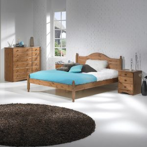 Copenhagen-pine-double-bed-frame