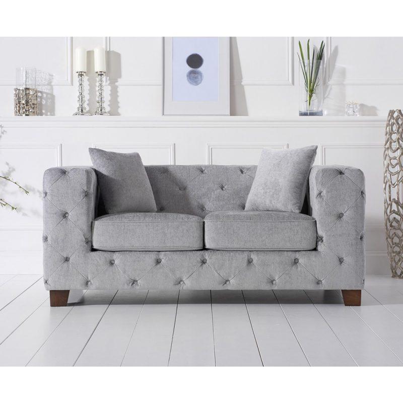 Fordham-grey-plush-two-seater-sofa