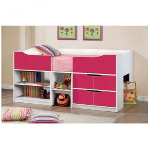 Paddington-cabin-bed-pink-and-white