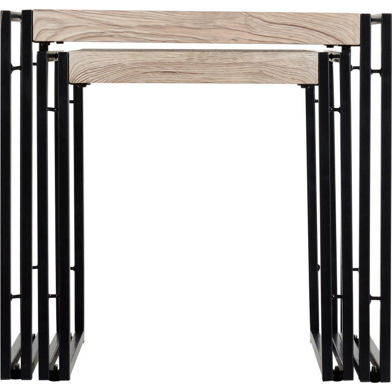 Warwick-nest-of-tables-oak-effect-front-on
