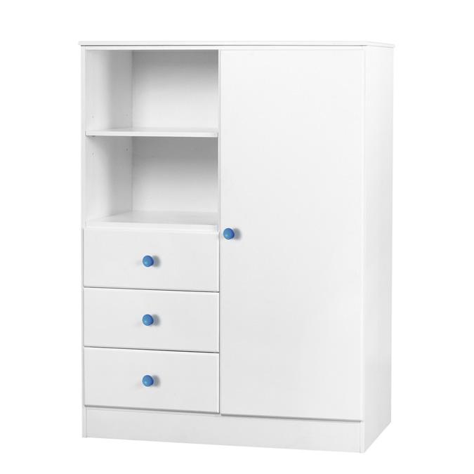 childrens-wardrobe-single-door-blue-handles-willow