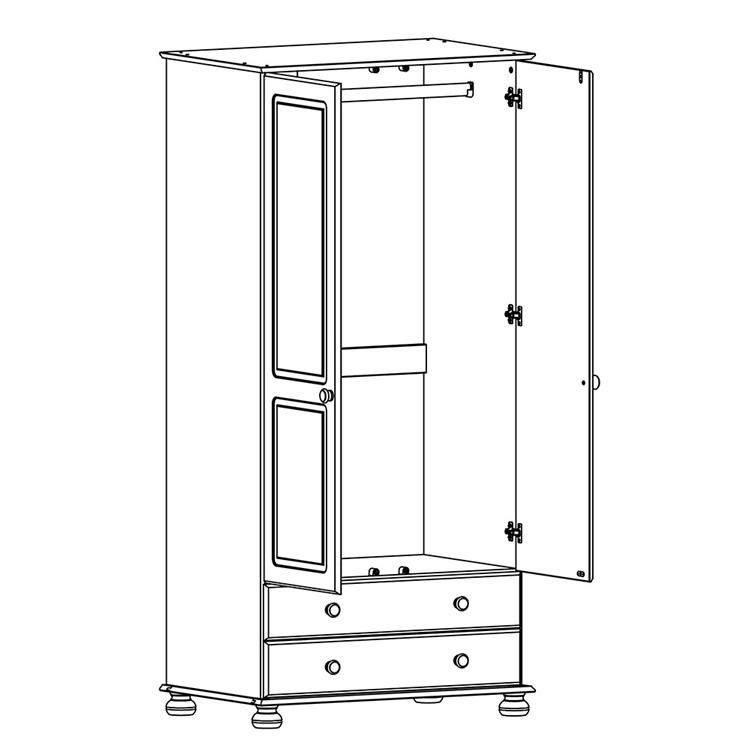 copenhagen-2-door-2-drawer-pine-sketch-