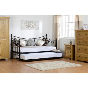 Torino black day bed