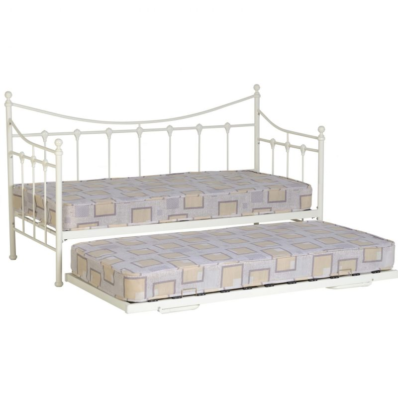 Torino cream daybed with underbed