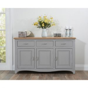 parisienne grey sideboard
