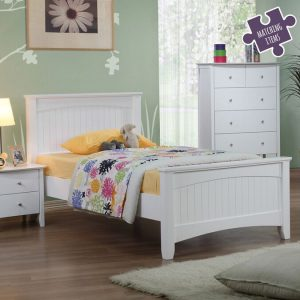 Willow White Single Bed