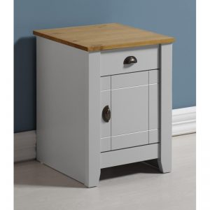 Ludlow Grey Painted Bedside Table