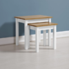 Ludlow White Painted Nest Of Tables