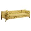 Esme Pistachio 3 Seater Sofa 8