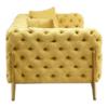Esme Pistachio 3 Seater Sofa 7