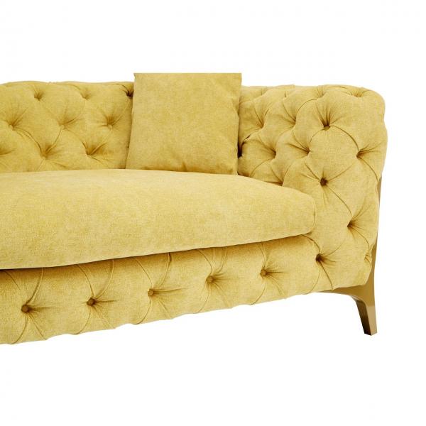 Esme Pistachio 3 Seater Sofa 2