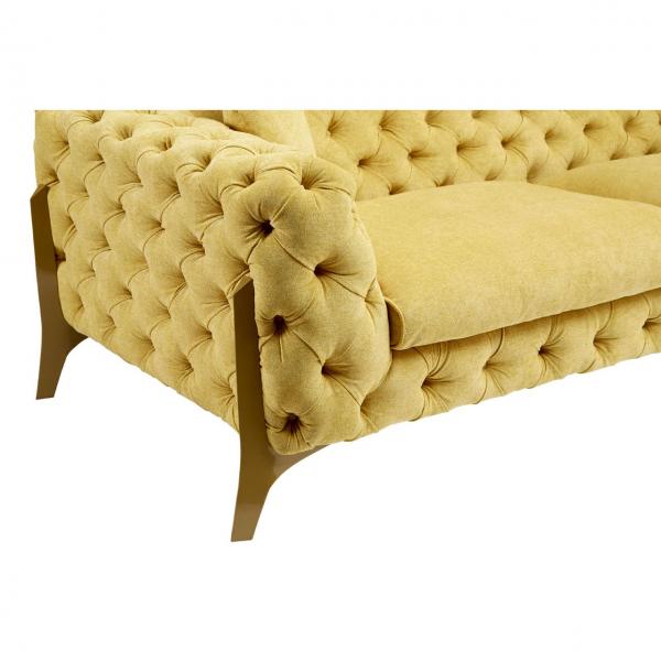 Esme Pistachio 3 Seater Sofa 9
