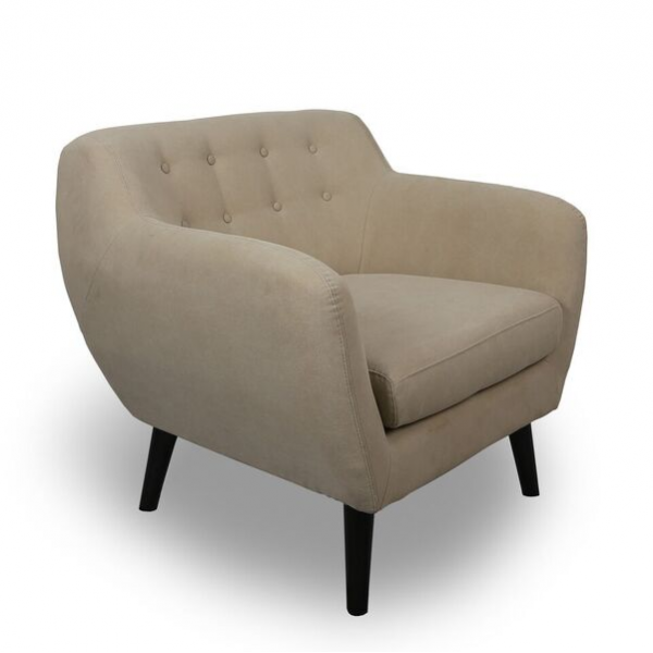 Imani Natural Contemporary Armchair