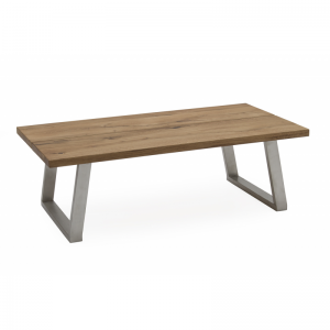 Trier Oak Industrial Style Coffee Table