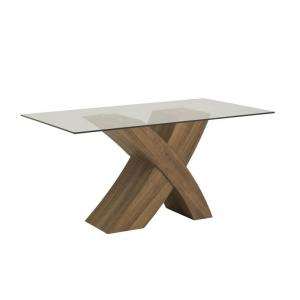 Eaton Oak Cross Leg Dining Table