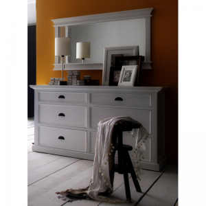 Halifax White Painted Dresser Chest