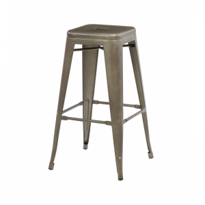 Bronx Rust Metal Bar Stools