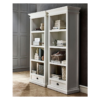 Halifax White Painted 1 Drawer Bookcase