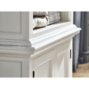 Halifax White Painted Bay Hutch Display Unit